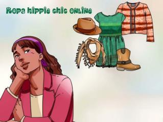 Ropa hippie chic online