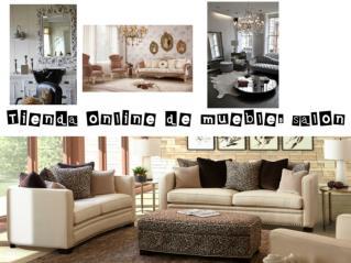 Tienda online de muebles salon