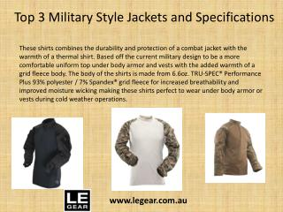 Buy Military Jackets Men