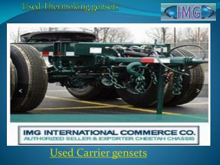 Used intermodal trailers
