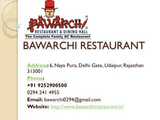 Best restaurant in udaipur
