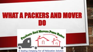 How best packers and movers works in Pune