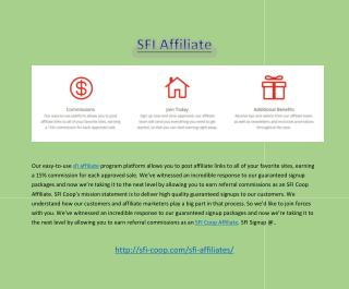 SFI Affilliate