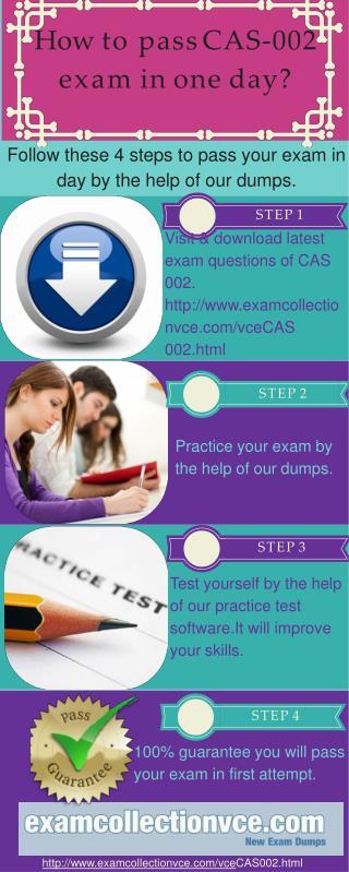 Examcollectionvce CAS-002 Dumps
