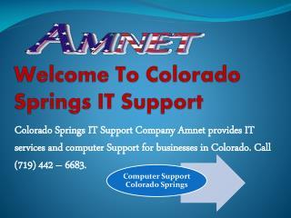 Computer Support Colorado Springs