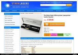 Pet 50mw Katze 532nm gr�ner Laserpointer kaufen Haustier