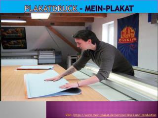 Plakatdruck - Mein-Plakat