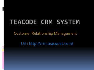 CRM Development Company Vadodara