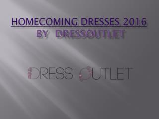 Homecoming Dresses 2016