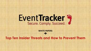 Top Ten Insider Threats and How to Prevent Them