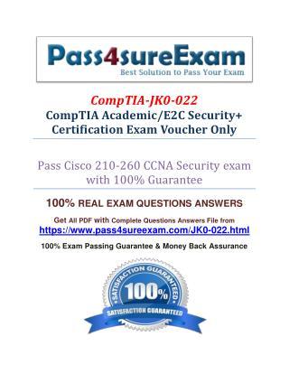 Pass4sure JK0-022 Exam Question