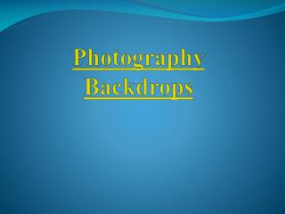 Best Photography Backdrops in Australia