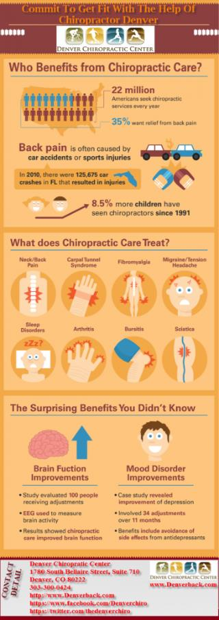 Commit To Get Fit With The Help Of Chiropractor Denver