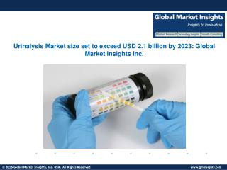 Urinalysis Market size set to exceed USD 2.1 billion by 2023