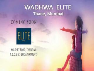Wadhwa Elite Thane| For the home you always dreamt call  91 9953592848