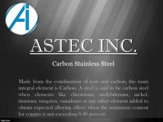 Structured and Resistance Carbon Steel Sheets - Astec.in