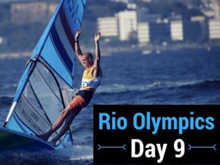 Rio Olympics: Day 9