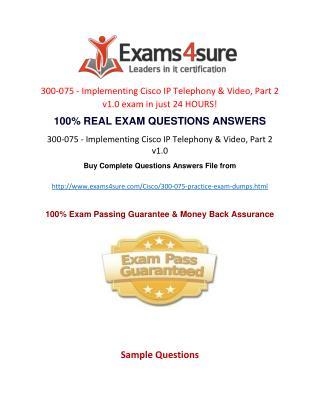 300-075 Practice Test