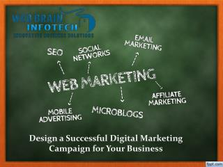 Design a Successful Digital marketing Campaign for Your Business