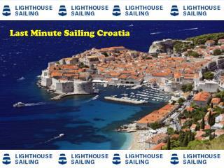 Last Minute Sailing Croatia