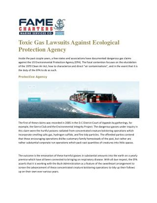 Ship supply agency