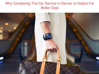 Car Service in Denver