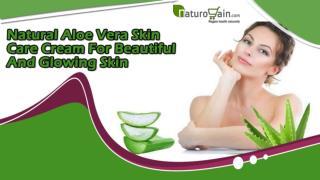 Natural Aloe Vera Skin Care Cream For Beautiful And Glowing Skin