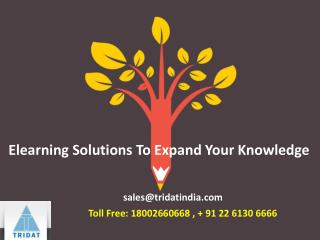 Elearning Solutions To Expand Your Knowledge