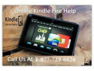 Hey! We are here to 24*7 to help you Kindle Fire Help Number 1-877-729-6626.