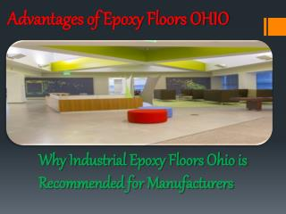 Advantages of Commercial epoxy floors OHIO