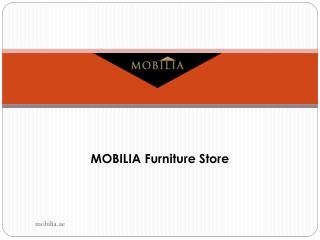 Mobilia Furniture - Coffee Tables Dubai