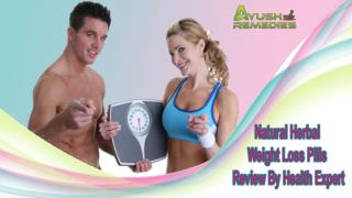Natural Herbal Weight Loss Pills Review By Health Expert