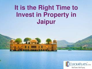 Time to Invest in Luxury Flats in Jaipur
