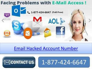 Email Hacked Account Number 1-877-424-6647