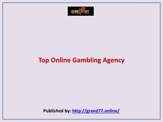 Top Online Gambling Agency