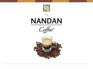 Nandan|certified organic coffee|Arabica coffee