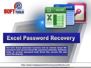 Excel Workbook Password Recovery