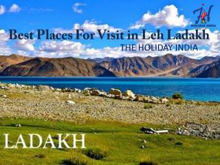 Leh Ladakh packages