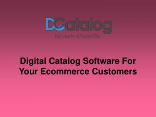 Digital Catalog Software