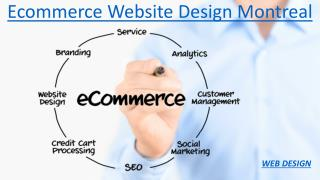Ecommerce Website Design Montreal