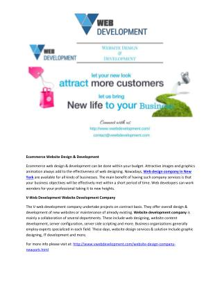 Website Design & Development Company in New York