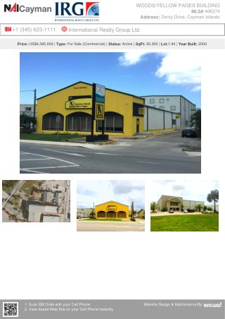 Cayman Islands Real-estate - WOODS/YELLOW PAGES BUILDING