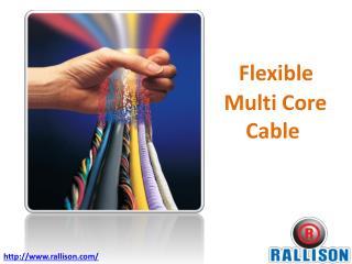 Flexible Multi Core Cable