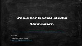Powerful tools to optimize Social Media Campaigns