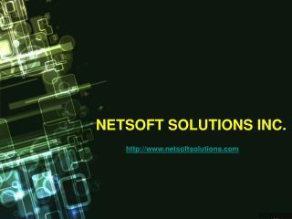 Netsoft Solutions Inc.