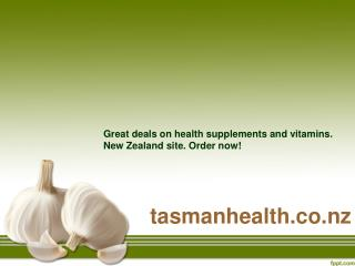 tasmanhealth.co.nz | Wakunaga Kyolic Aged Garlic Extract