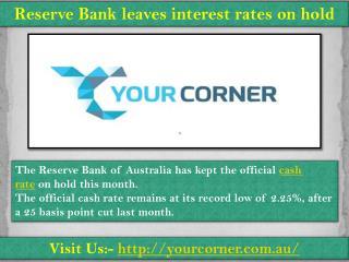 Commercial mortgage broker| Visit us yourcorner.com.au