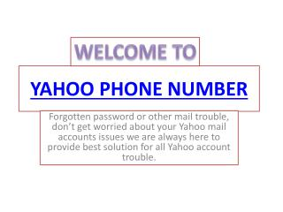 Get an easy mail help for Yahoo accounts