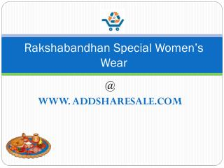 Rakshabandhan Special Wholesale Women's Wear