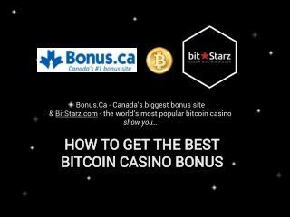 Bonus.ca's Guide to BitStarz.com